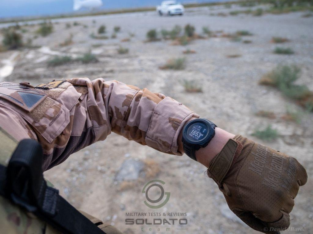 Reálné nasazení hodinek Garmin Instinct