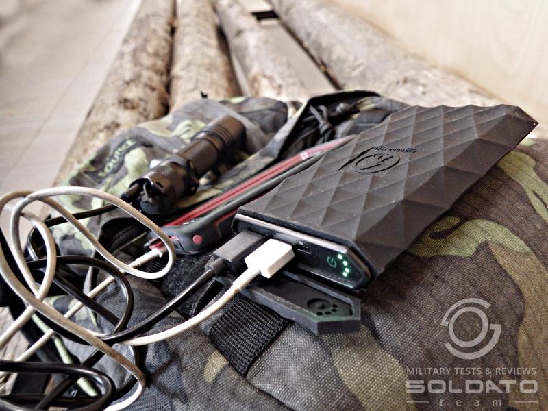 Nabíjení powerbanky výstup 2,4A