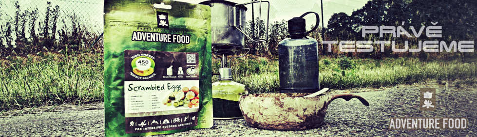 Adventure food test a recenze jídla