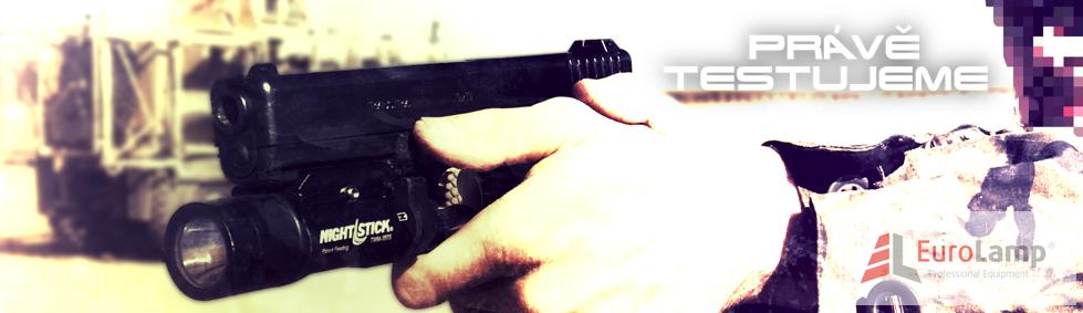 Pistolová svítilna Nighstick