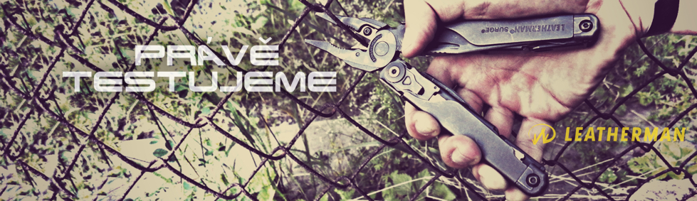 Leatherman Surge army test