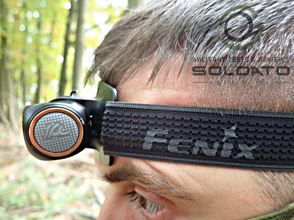 Zapínání čelovky Fenix