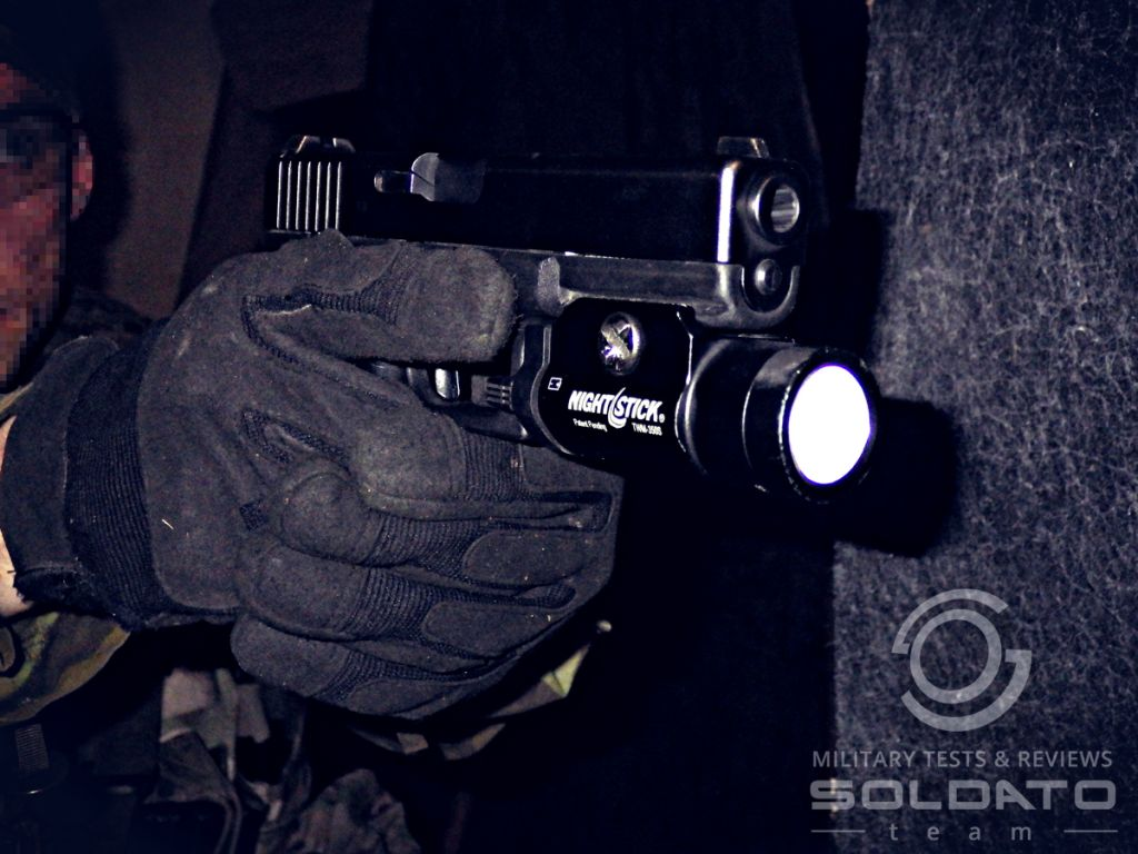 Test svítilny NightStick TWM-350S