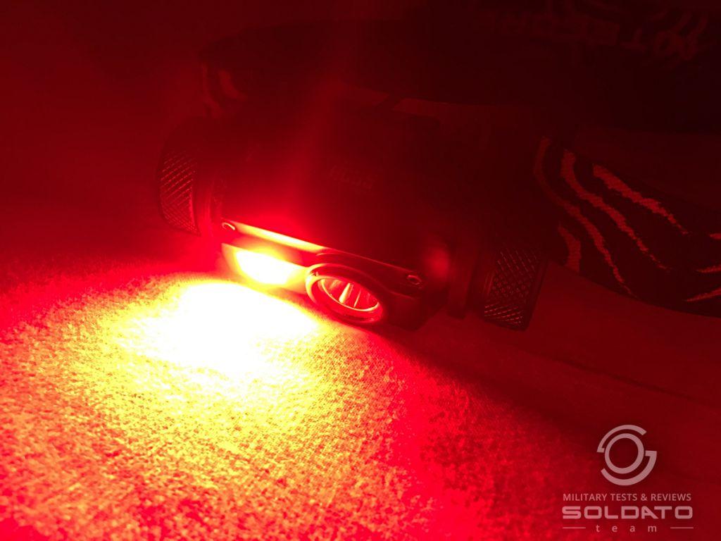 Proč červené světlo pro vojáky?
