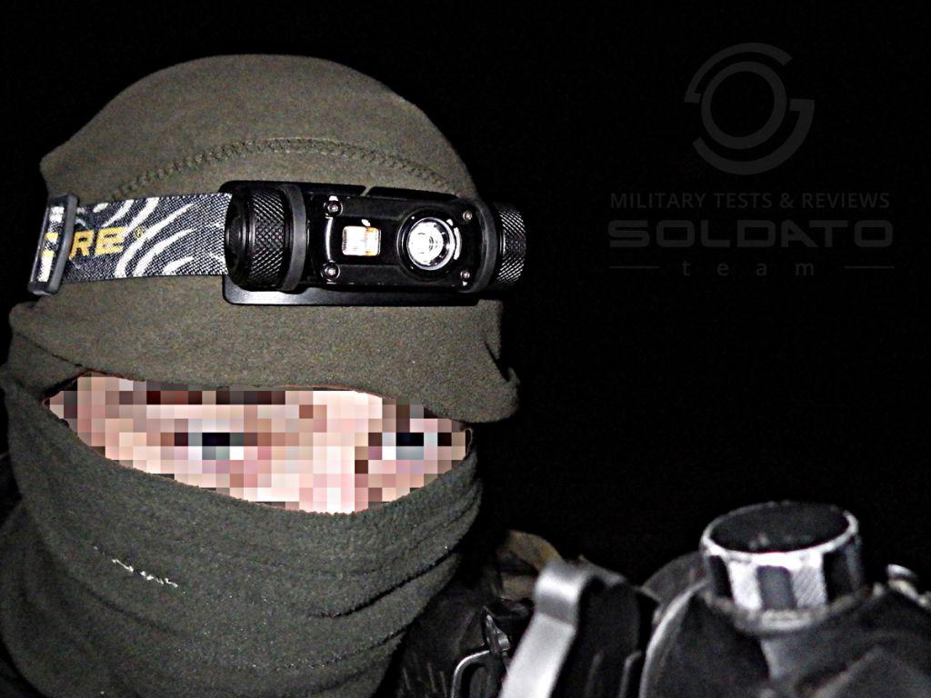 Čelovka pro vojáky
