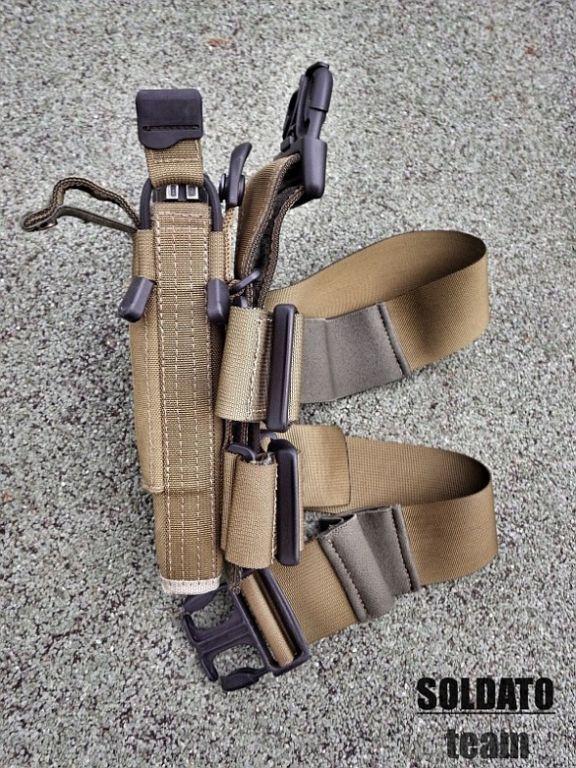 Pistolové stehenní pouzdro
