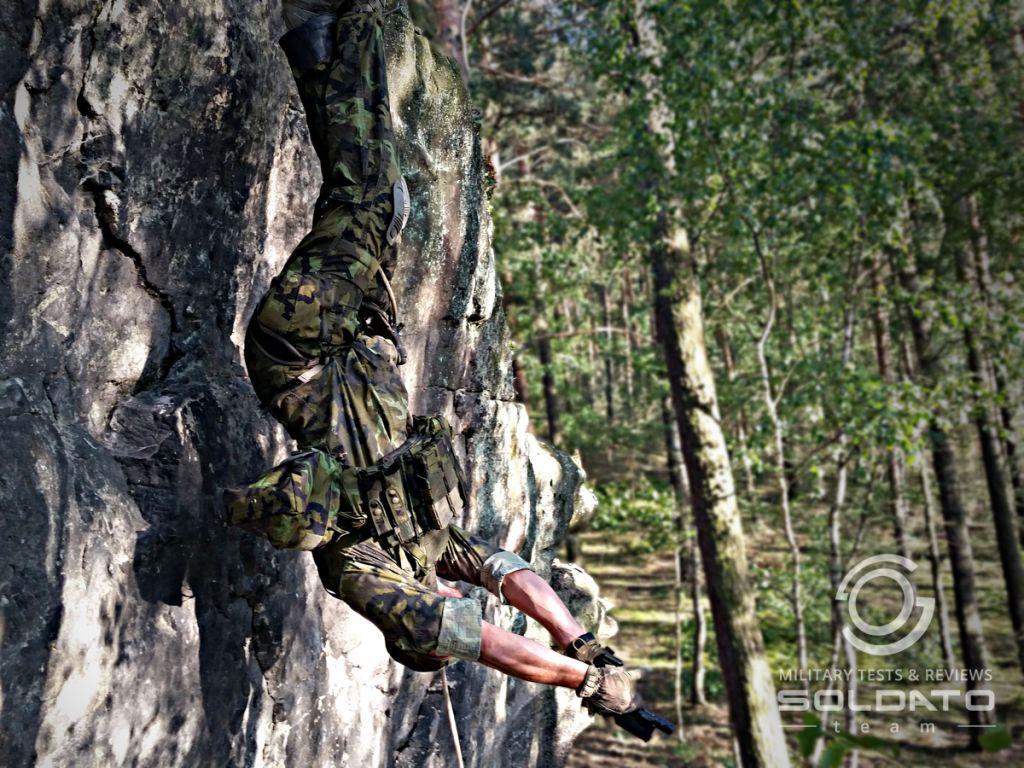 Slaňování v armádě