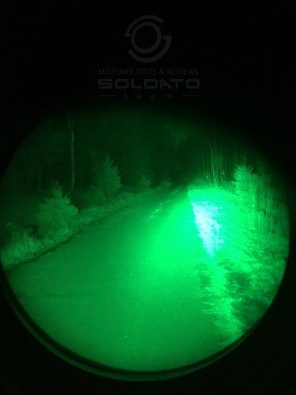 Infračervené světlo v nočním vidění