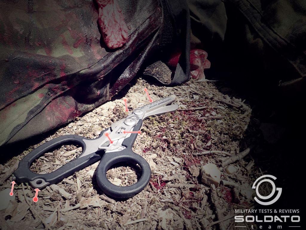Multifunkční nůžky Leatherman