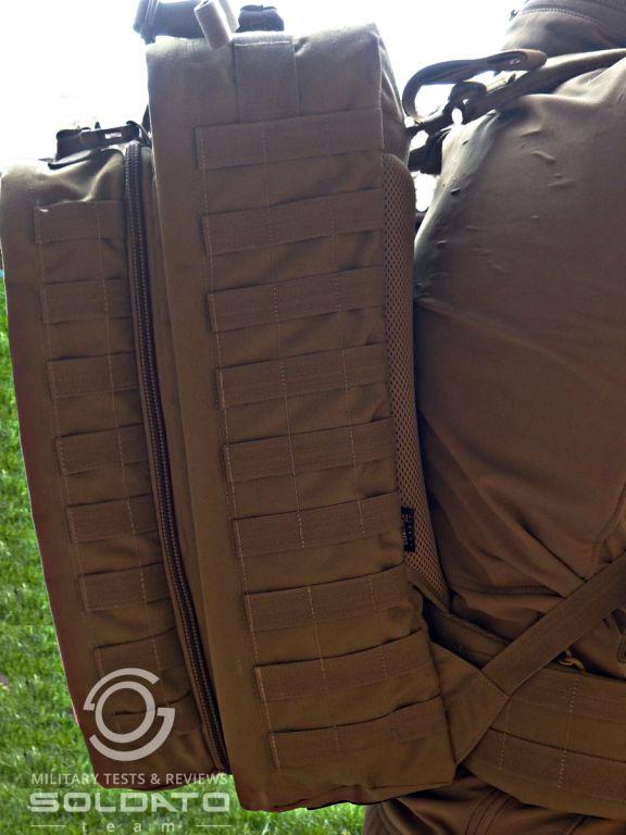 Jak přizpůsobit batoh na zádech